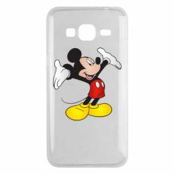 Чохол для Samsung J3 2016 Happy Mickey Mouse