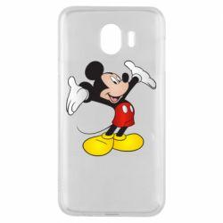 Чохол для Samsung J4 Happy Mickey Mouse