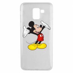 Чохол для Samsung J6 Happy Mickey Mouse