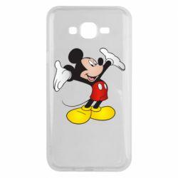 Чохол для Samsung J7 2015 Happy Mickey Mouse