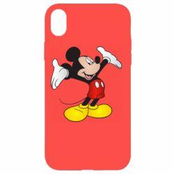 Чохол для iPhone XR Happy Mickey Mouse