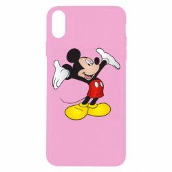 Чохол для iPhone Xs Max Happy Mickey Mouse