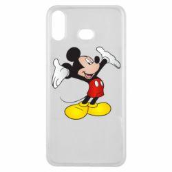 Чохол для Samsung A6s Happy Mickey Mouse