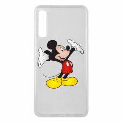 Чохол для Samsung A7 2018 Happy Mickey Mouse