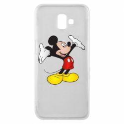 Чохол для Samsung J6 Plus 2018 Happy Mickey Mouse