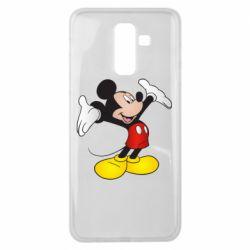 Чохол для Samsung J8 2018 Happy Mickey Mouse