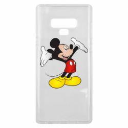 Чохол для Samsung Note 9 Happy Mickey Mouse