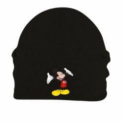 Шапка на флісі Happy Mickey Mouse
