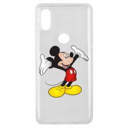 Чехол для Xiaomi Mi Mix 3 Happy Mickey Mouse
