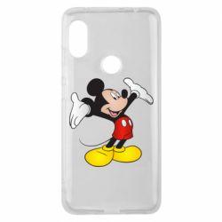 Чехол для Xiaomi Redmi Note 6 Pro Happy Mickey Mouse
