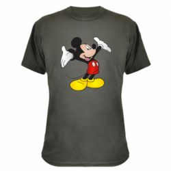 Камуфляжна футболка Happy Mickey Mouse