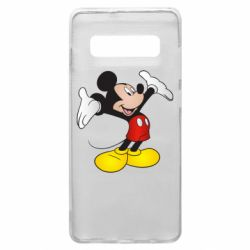 Чохол для Samsung S10+ Happy Mickey Mouse