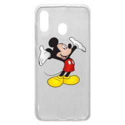 Чохол для Samsung A20 Happy Mickey Mouse