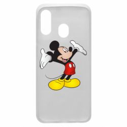 Чохол для Samsung A40 Happy Mickey Mouse