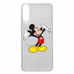 Чохол для Samsung A70 Happy Mickey Mouse
