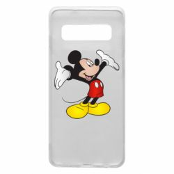 Чохол для Samsung S10 Happy Mickey Mouse