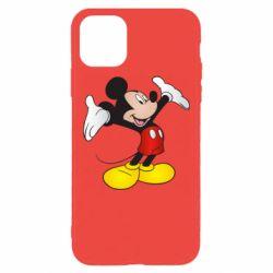 Чохол для iPhone 11 Pro Max Happy Mickey Mouse