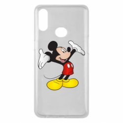 Чохол для Samsung A10s Happy Mickey Mouse