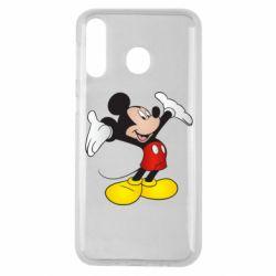Чохол для Samsung M30 Happy Mickey Mouse
