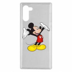 Чохол для Samsung Note 10 Happy Mickey Mouse