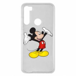Чехол для Xiaomi Redmi Note 8 Happy Mickey Mouse