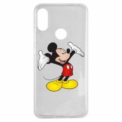 Чехол для Xiaomi Redmi Note 7 Happy Mickey Mouse