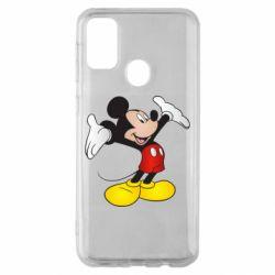 Чохол для Samsung M30s Happy Mickey Mouse