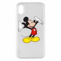 Чохол для iPhone X/Xs Happy Mickey Mouse