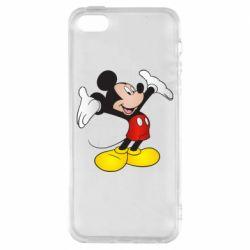 Чохол для iphone 5/5S/SE Happy Mickey Mouse
