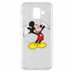 Чохол для Samsung A6 2018 Happy Mickey Mouse