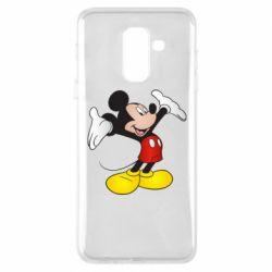 Чохол для Samsung A6+ 2018 Happy Mickey Mouse