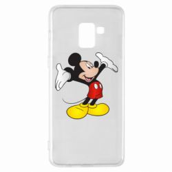 Чохол для Samsung A8+ 2018 Happy Mickey Mouse