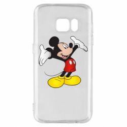 Чохол для Samsung S7 Happy Mickey Mouse