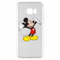 Чохол для Samsung S7 EDGE Happy Mickey Mouse
