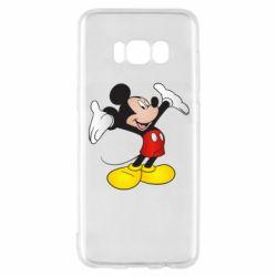 Чохол для Samsung S8 Happy Mickey Mouse