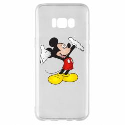 Чохол для Samsung S8+ Happy Mickey Mouse