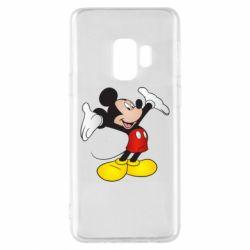 Чохол для Samsung S9 Happy Mickey Mouse