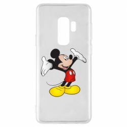 Чохол для Samsung S9+ Happy Mickey Mouse