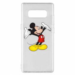 Чохол для Samsung Note 8 Happy Mickey Mouse