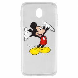 Чохол для Samsung J7 2017 Happy Mickey Mouse