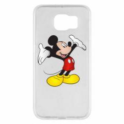 Чохол для Samsung S6 Happy Mickey Mouse