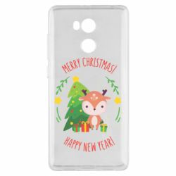 Чехол для Xiaomi Redmi 4 Pro/Prime Happy new year and deer