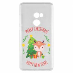 Чехол для Xiaomi Mi Mix 2 Happy new year and deer