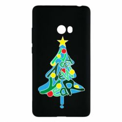 Чохол для Xiaomi Mi Note 2 Happy new year on the tree