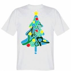 Чоловіча футболка Happy new year on the tree