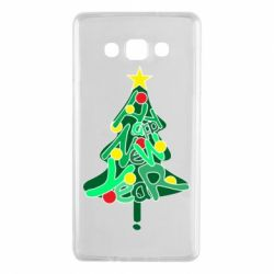 Чохол для Samsung A7 2015 Happy new year on the tree