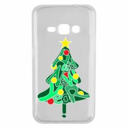 Чохол для Samsung J1 2016 Happy new year on the tree