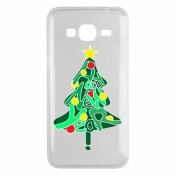 Чохол для Samsung J3 2016 Happy new year on the tree