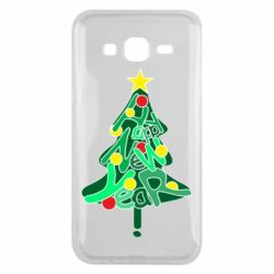 Чохол для Samsung J5 2015 Happy new year on the tree