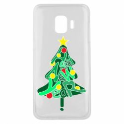 Чохол для Samsung J2 Core Happy new year on the tree